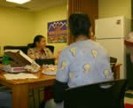 In-office training